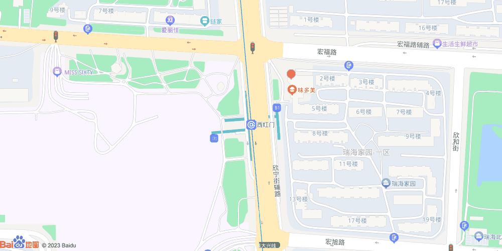 北京西红门地铁站