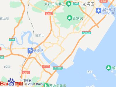 瑞安振武不锈钢制造厂地图
