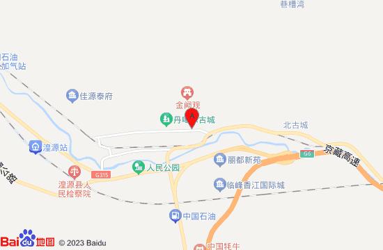 丹噶尔古城地图
