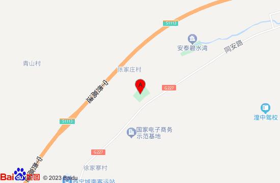 西宁夏都博汇温泉水乐园地图