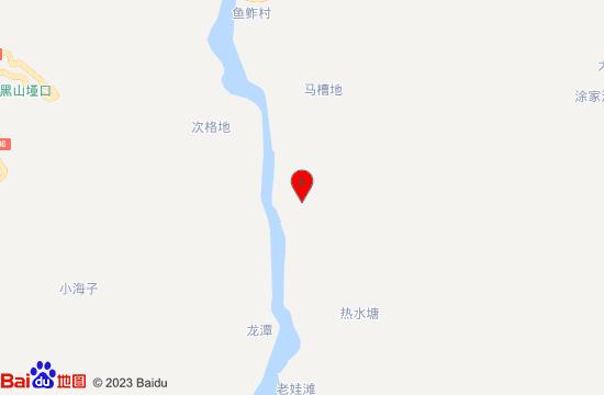 会理侠客行温泉山庄地图