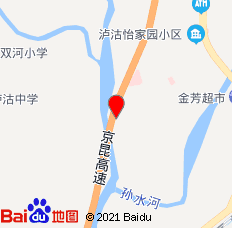 泸沽森淼商务酒店(冕宁县)位置图