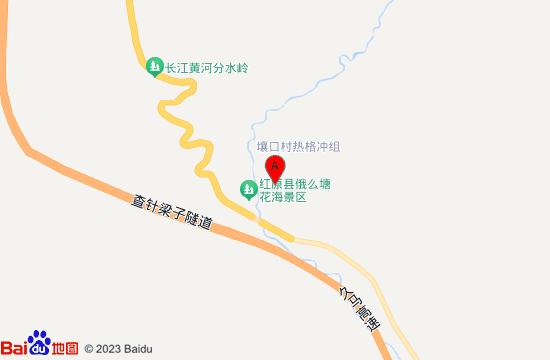 俄么塘花海地图
