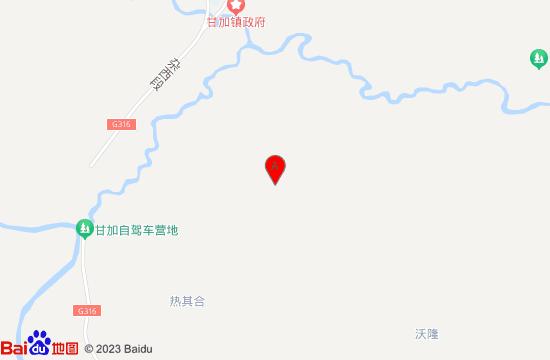 夏河甘加秘境地图