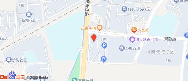 经典双城小区地图