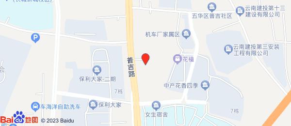 中产花香四季小区地图