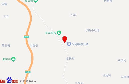 昆明春湖悠活谷地图