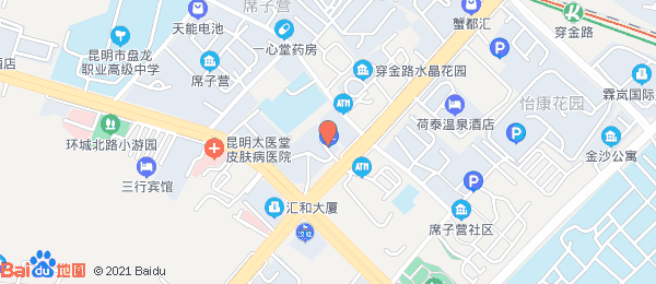 水晶俊园小区地图
