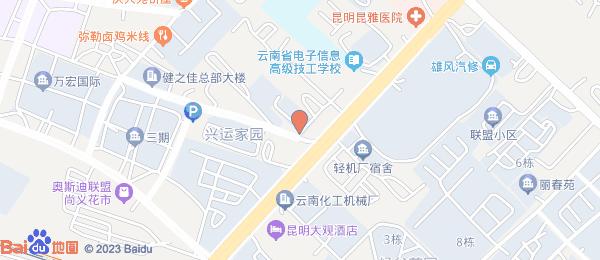 蓝色经典小区地图