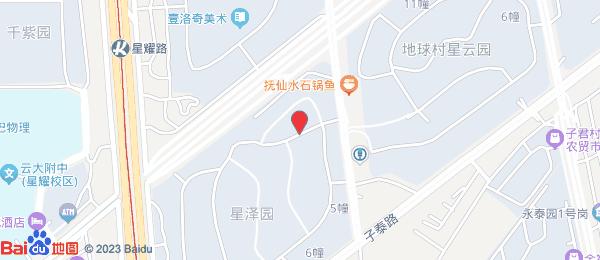 星泽园小区地图