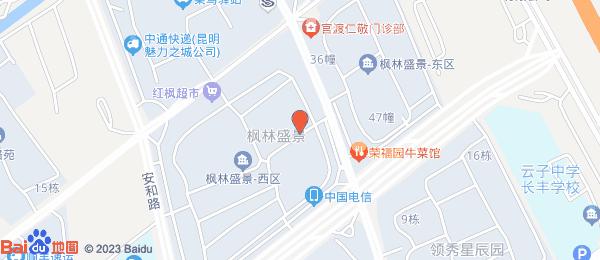 枫林盛景小区地图