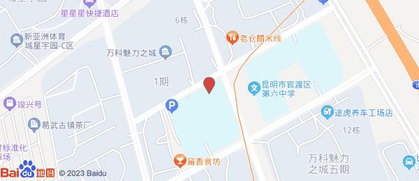 万科魅力之城小区地图