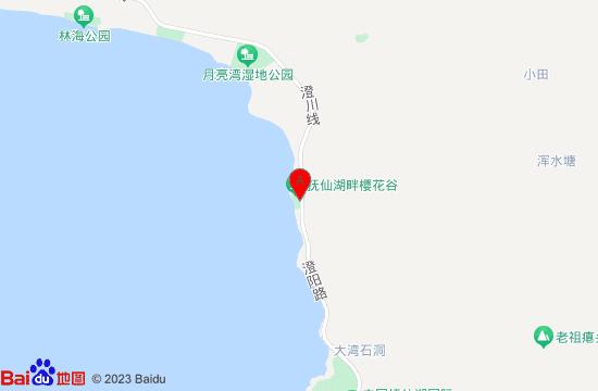 澄江樱花谷地图