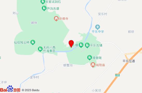 邛崃邛州园地图