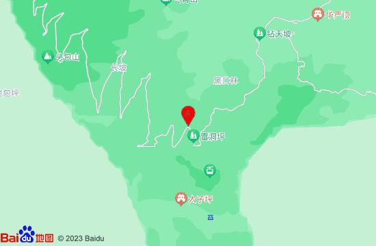 峨眉山滑雪场地图