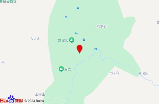 都江堰青城山后山地图