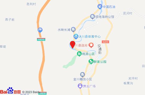 沐川乌蒙沐歌地图