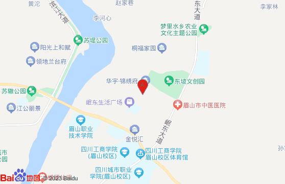 眉山樱花博览园地图