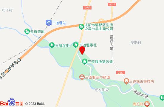三道堰镇乐水公园地图