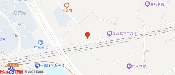 华侨城小区地图