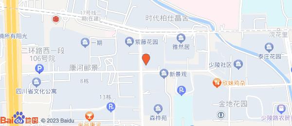 新空间花园小区地图