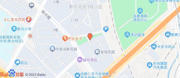 安信花园小区地图