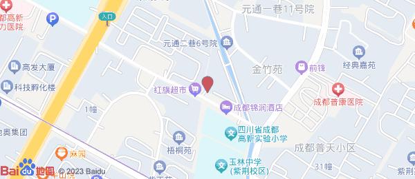 神仙树3号小区地图