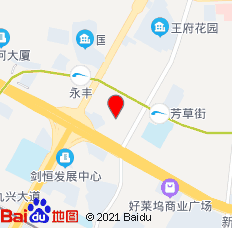 成都锦程公寓(芳草街店)位置图