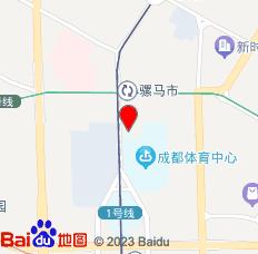 锦江之星(成都文殊院地铁站店)位置图
