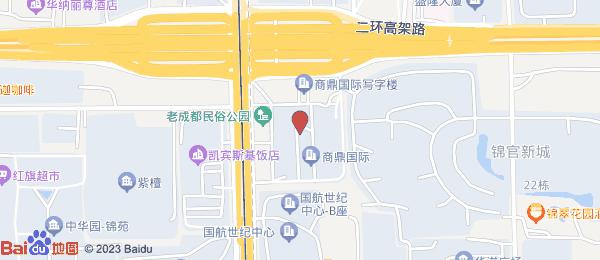 锦官新城小区地图