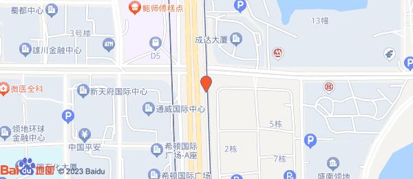 美年广场小区地图