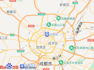成都火车站周边地图