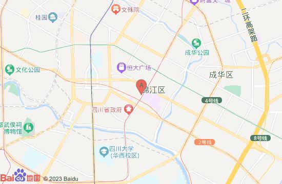 成都5D星空错觉艺术馆地图