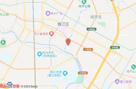 成都水井坊博物馆地图