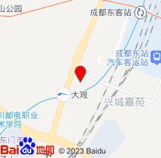 成都驿夜酒店公寓位置图
