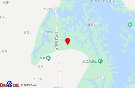 三岔湖天堂岛水乐园地图
