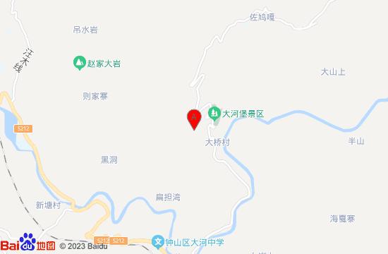六盘水大河堡温泉地图