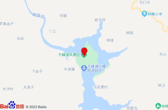 兴义万峰湖地图