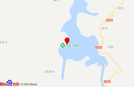 贞丰北盘江大峡谷地图