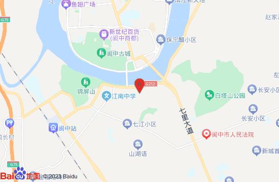阆中世界风水博览城地图
