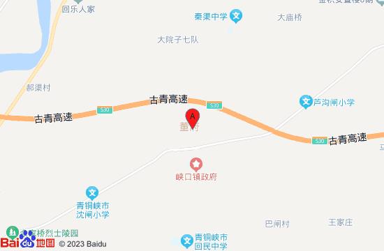 吴忠董府地图