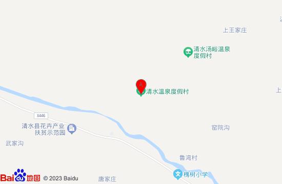 清水温泉地图