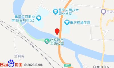 重庆万画影城合川店周边地图