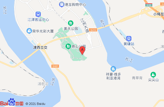江津灯会地图