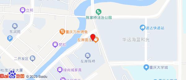左岸陈桥小区地图