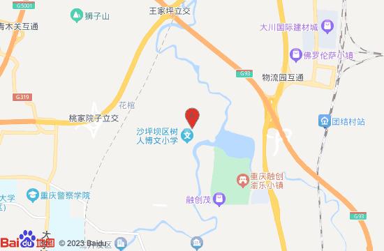 重庆融创渝乐小镇地图