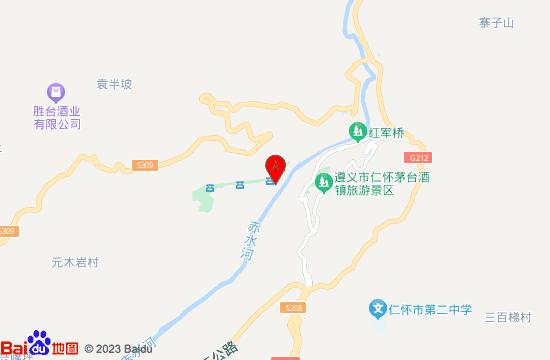仁怀茅台天酿景区地图
