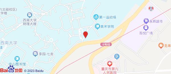 天生丽街小区地图