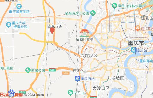 重庆富士康地图位置