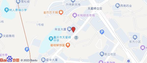 天下城小区地图